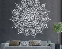 Unique yoga wall decal related items Etsy