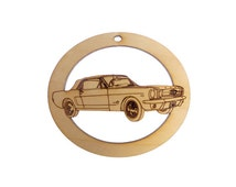 Classic Mustang Ornament - Mustang Gifts - Mustang Gift - Mustang Ornaments - Classic Car Gift - Car Lover Gifts - Personalized Free
