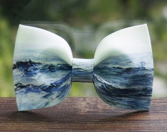 Big Waves Ocean Bowtie bow tie