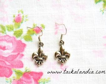 Fleur De Lis Earrings - Fleur De Lis Necklace - Scout Earrings - Scout Necklace - Fleur De Lis Jewelry - Scout Jewelry - Scout Gift