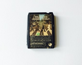 Vintage The Beatles Abbey Road 8-Track Tape