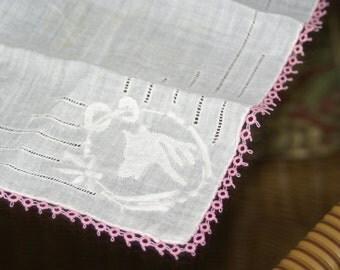 Vintage Handkerchief Equestrian