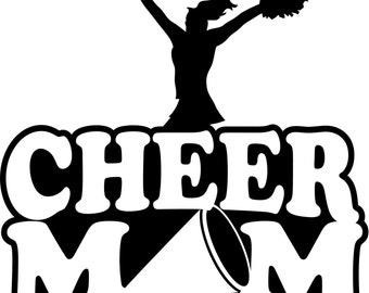 Cheer Mom Hoodie/ Cheer Mom Sweatshirt/ Cheer Mom Clothing/ Cheer Mom Gift/ Cheer Mom/ Cheer/ Cheerleader Cheer Mom Hoodie Sweatshirt