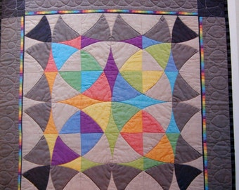 Winding Ways Quilts A Practically Pinless Approach By Nancy Elliottt MacDonald Paperback Quilting Pattern Book 2004
