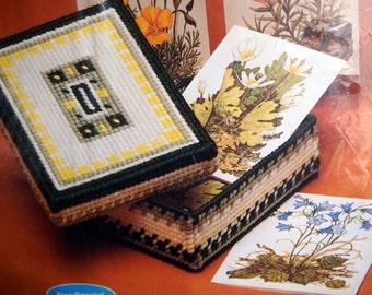 Keepsake Needlepoint Gift Set By Current, Inc. Vintage Unopened Plastic Canvas Needlepoint Kit 1982