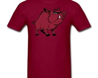 Razorback Hog T-Shirt for Arkansas Razorbacks Fans!