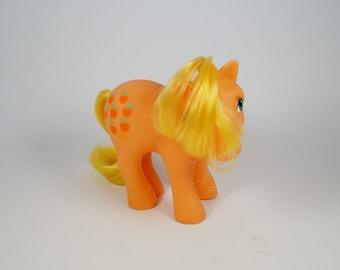 Vintage G2 My Little Pony - Apple Jack  Earth Pony 1983