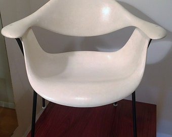 George Nelson DFH Chair /Limited Production 1962-63 /  Vintage Herman Miller Chair