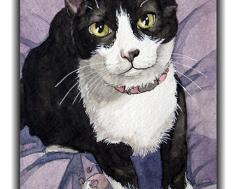 Custom Pet Portraits- WATERCOLOR
