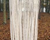 All Lace Wedding Backdrop Curtains - Bridal Shower Backdrop - Engagement Photo Backdrop - Photo Booth Backdrop