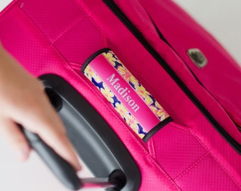 Personalized Luggage Handle Wrap (20 Patterns)