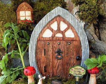 Large Gnome Door,Large Fairy Door, Pirates and Fairies, Pirate Decor, Spanish Decor,Fantasy Garden Decor,Medieval Decor,Stone