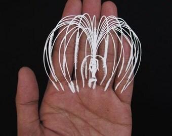 Avatar - Eywa - Atokirina - Papercut - Paper-cut - art - Papercutting - Papercraft - Paperart - Handmade - Handcut -Papercraft -Paper