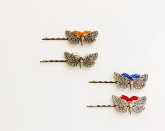 Butterfly Crochet Hair Pins