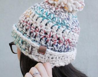 Avery // Handmade crochet knit thick chunky beanie // Hudson Bay