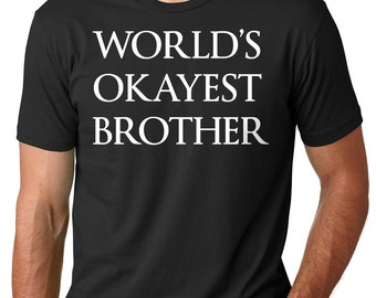 Brother T-Shirt Gift For Brother Tee Shirt Birthday Gift Ideas