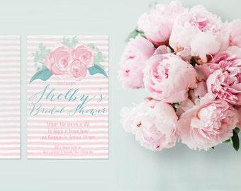 Bridal Shower Invitations - PRINTED