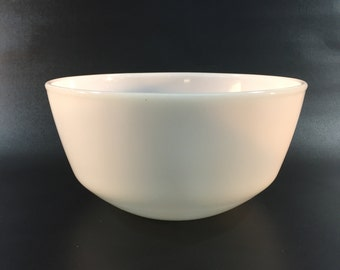 Vintage Fire King Milk Glass Mixing Bowl