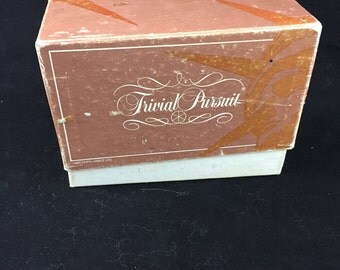 Trivial Pursuit Game Welcome To America Subsidiary Card Set 1985
