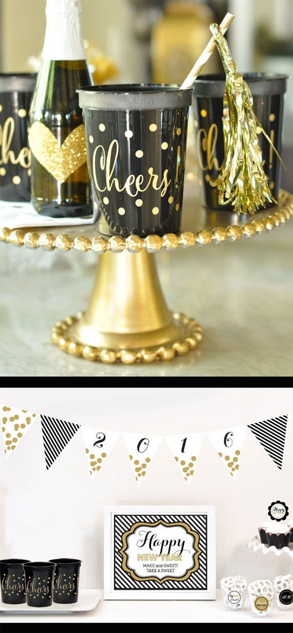 New years cups new years party cups new years eve party for 15 years party decoration