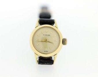 14K Yellow Tudor Ladies Wrist watch