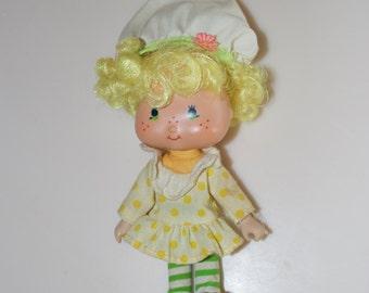 Lemon Meringue Strawberry Shortcake Doll 1979 American Greetings
