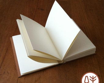 Everyday Blank Journal with Fold-out Pages