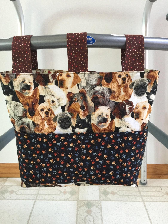 Crochet Patterns For Walker Bags : Walker Bag Walker Tote Carry all Walker Caddy