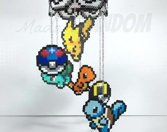 Pokemon Mobile I Hanging Mobile | Pokemon Home Decor | Gifts for Geeks | Gifts for Gamers I Hanging Mobile for Adults - READY TO SHIP!