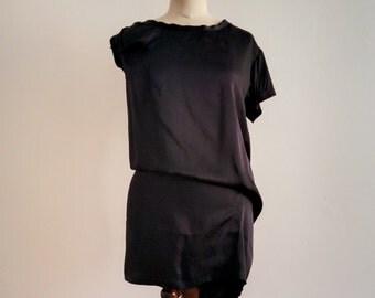 Ann Demeulemeester silk oversized dress