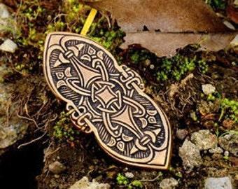Replica of a Viking brooch from Birka - [07 Br Birka 1/N1 B-5]