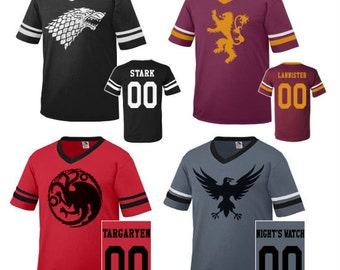 Game of Thrones Inspired Team Jerseys