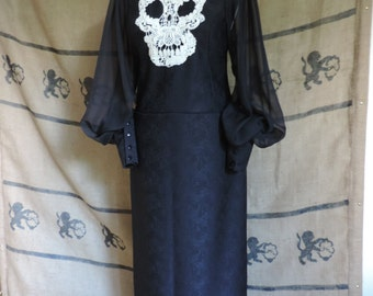 "Gothic black dress ""Zoe Muerte"""