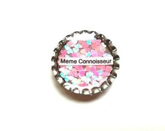 Meme Connoisseur Pin