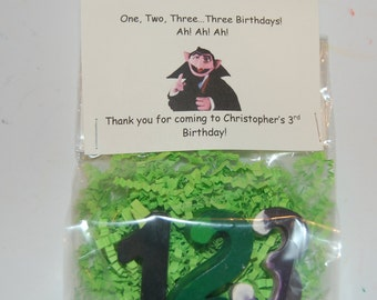 The Count Number Crayons