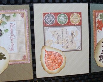 Simply Autumn Card Set (3 cards)