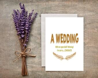 Wedding Card/Engagement Greeting Card