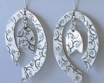 Stary Night earrings.