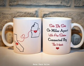 Wedding Gift Ideas For Distant Friends : ... mug gift for sister sister gift gift for bff friend gift for