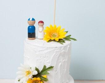 Best Day Ever Cake Topper, Wedding Cake Topper, Gold Glitter Cake Topper