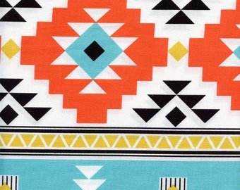 Four Corners Main Riley Blake Cotton Fabric Teal C4870, By the Yard