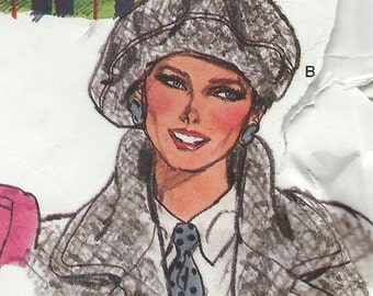 vogue hat pattern ads covers mid century download