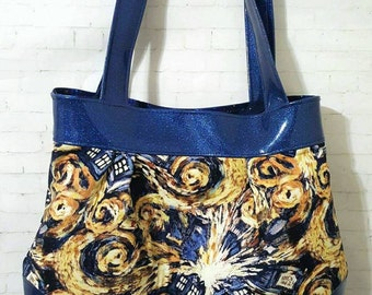 Doctor Who bag, Doctor Who purse, exploding Tardis, Tardis purse *MADE TO ORDER*
