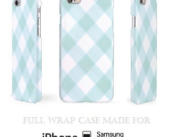 White & Green iPhone 6 Case > White iPhone 5C Case > Light Silicone Samsung Galaxy S5 Case > iPhone Cases > Snap Samsung Case > Plaid Case