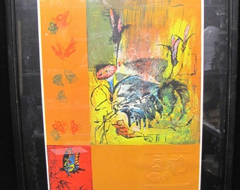 HOI Lebadang Pencil Signed and Numbered Limited Edition Lithograph with Watermark and COA