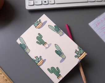 Small Cactus Notebook