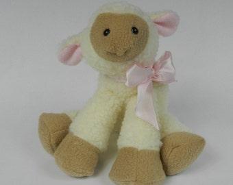Stuffed Lamb, Stuffed Sheep, Plush Lamb, Plushie Lamb, Stuffed Toy Lamb, Sheep, Stuffed Animal Lamb