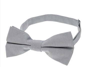 Mens Bowtie.Smoky Grey Bowties.Wedding Bowties.Formal Bowties.Business Bowites