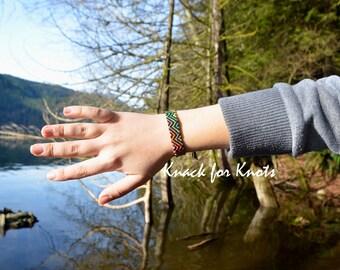 Multi-colour Zig Zag Friendship Bracelet