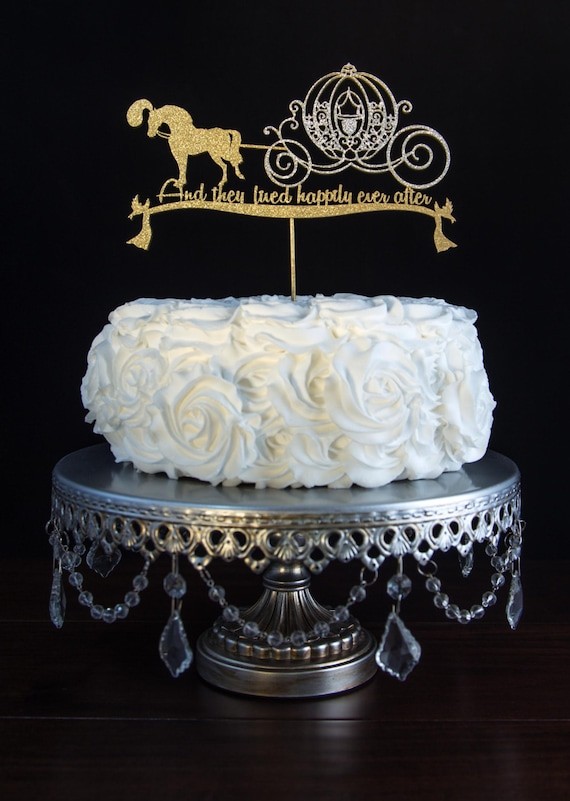 horse and carriage wedding cake topper wedding cake topper cinderella amp carriage by cakesparkle 15313